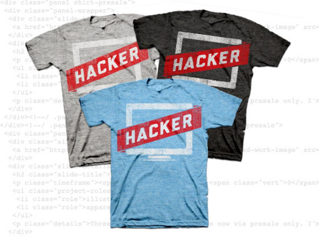 Hacker T-Shirt's video poster