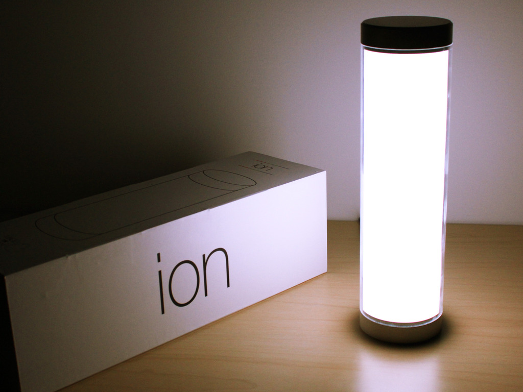 Ion: A Music Detecting Mood Light with Bluetooth Low Energy's video poster