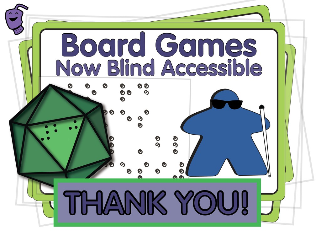 Board Games: Now Blind Accessible's video poster