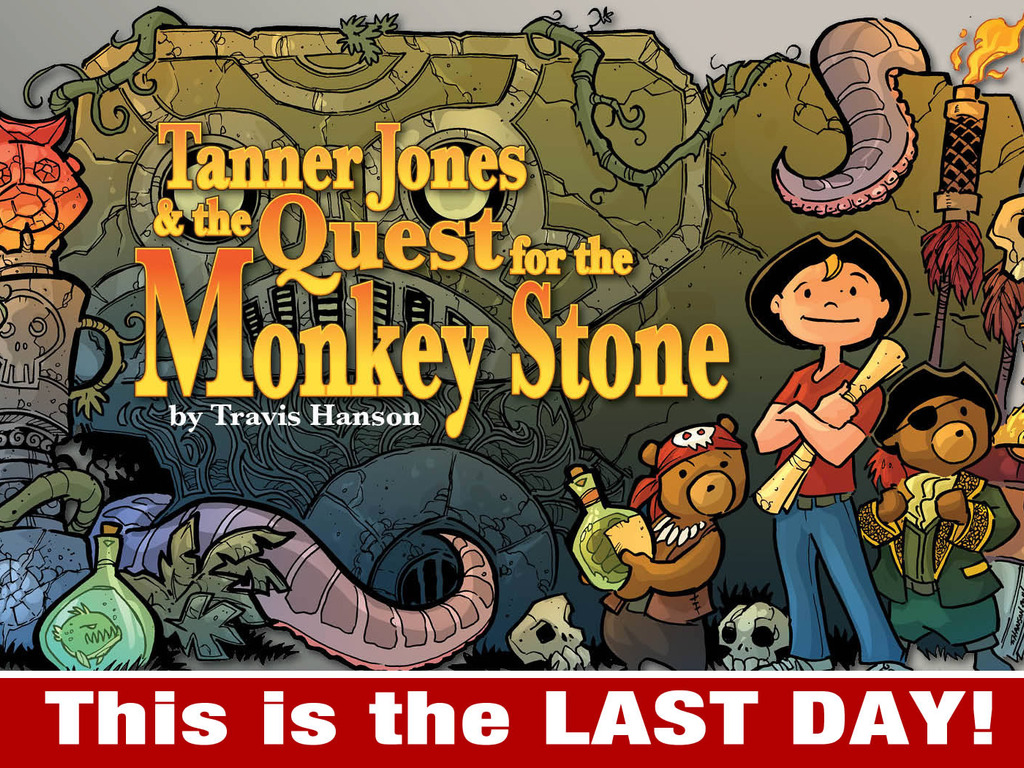 Tanner Jones and the Quest for the Monkey Stone's video poster