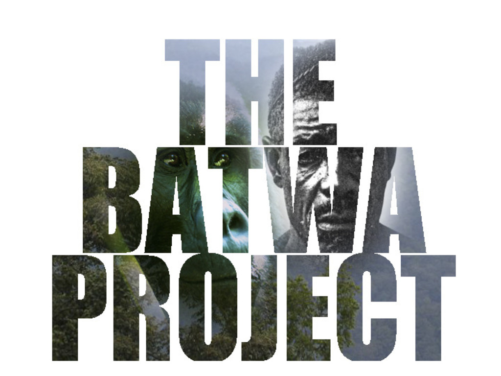 The Batwa Project's video poster