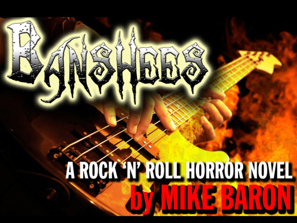 BANSHEES: A Rock 'N' Roll Horror Novel by Mike Baron's video poster