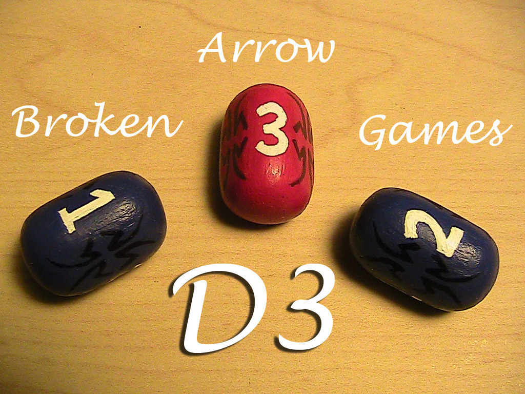 D3 - The First Real Three Sided Dice! (Canceled)'s video poster