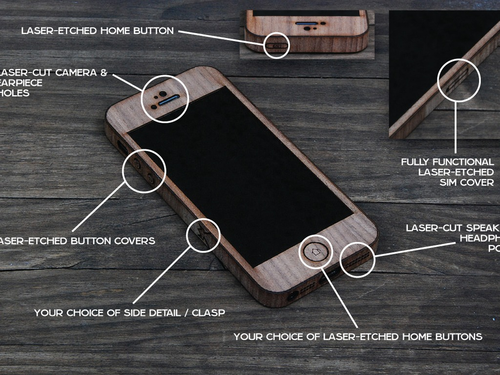 Real Wood iPhone Wraps - DIY Kit for iPhone 4/5/6 & More!'s video poster