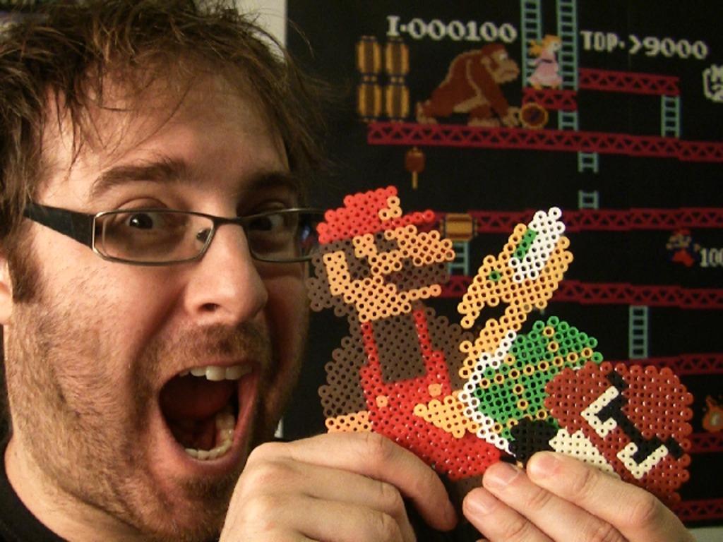 Super Mario Bros - Stop Motion Pixel Art's video poster