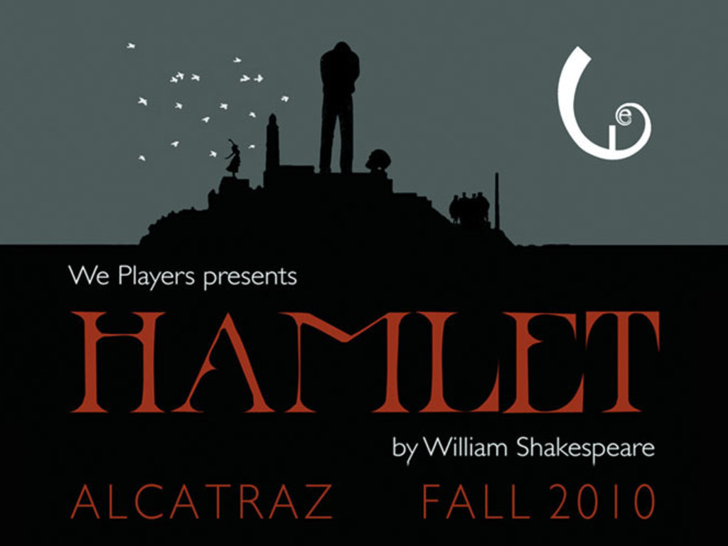 We Players Presents interactive HAMLET on ALCATRAZ's video poster