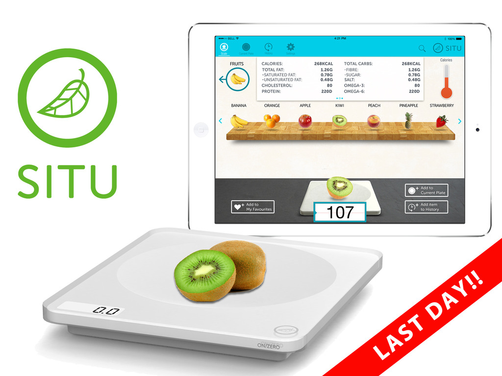 SITU Smart Food Nutrition Scale for iPad and Android tablets's video poster