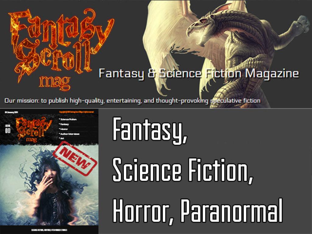 Fantasy Scroll Magazine - Fantasy, Sci/Fi & Horror Stories's video poster