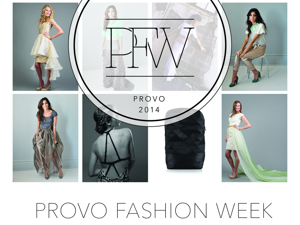 Provo Fashion Week's video poster