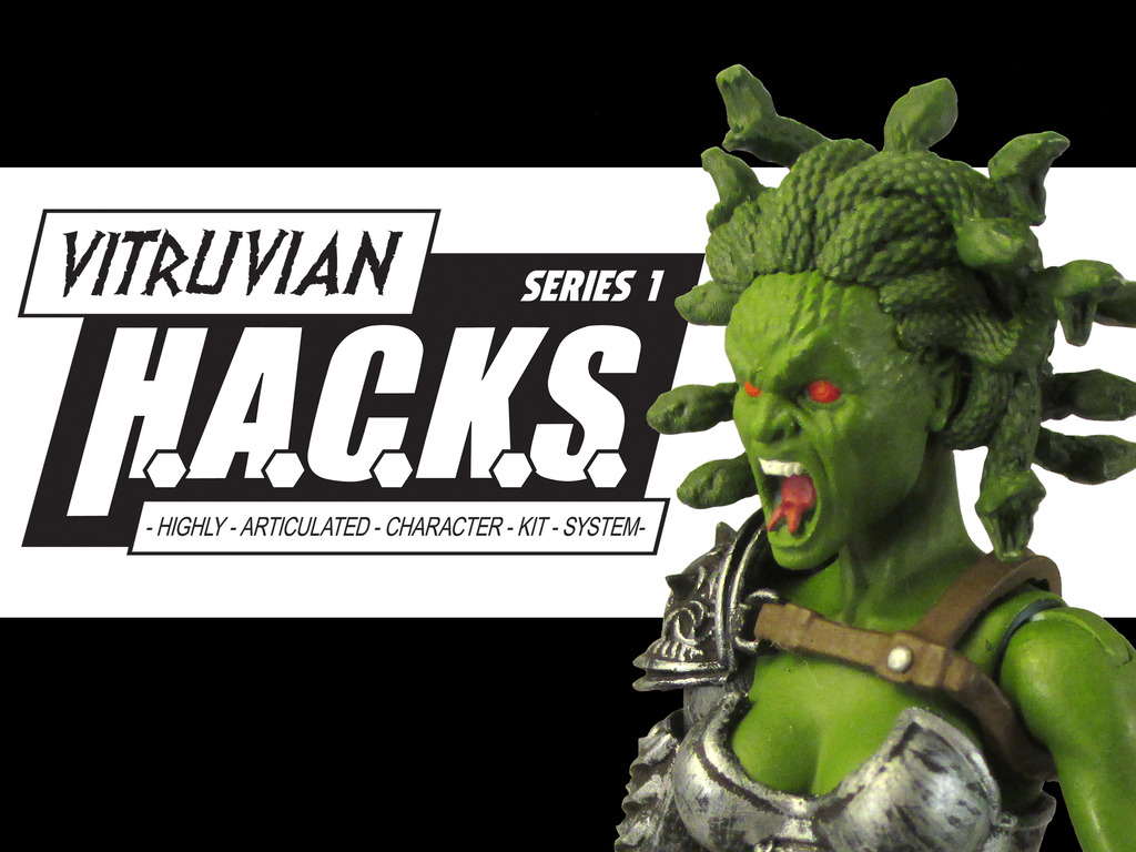Boss Fight Studio's Vitruvian H.A.C.K.S. Action Figures's video poster