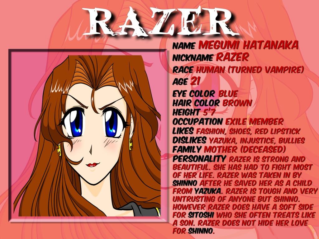 Vampire Razer : Sexy/ Cutting Edge/ Vampire Comic's video poster