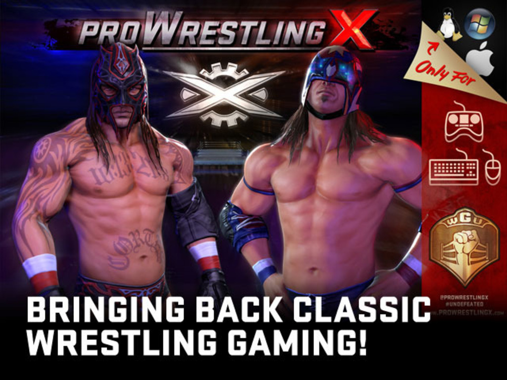 Pro Wrestling X – Bringing back classic wrestling gaming!'s video poster
