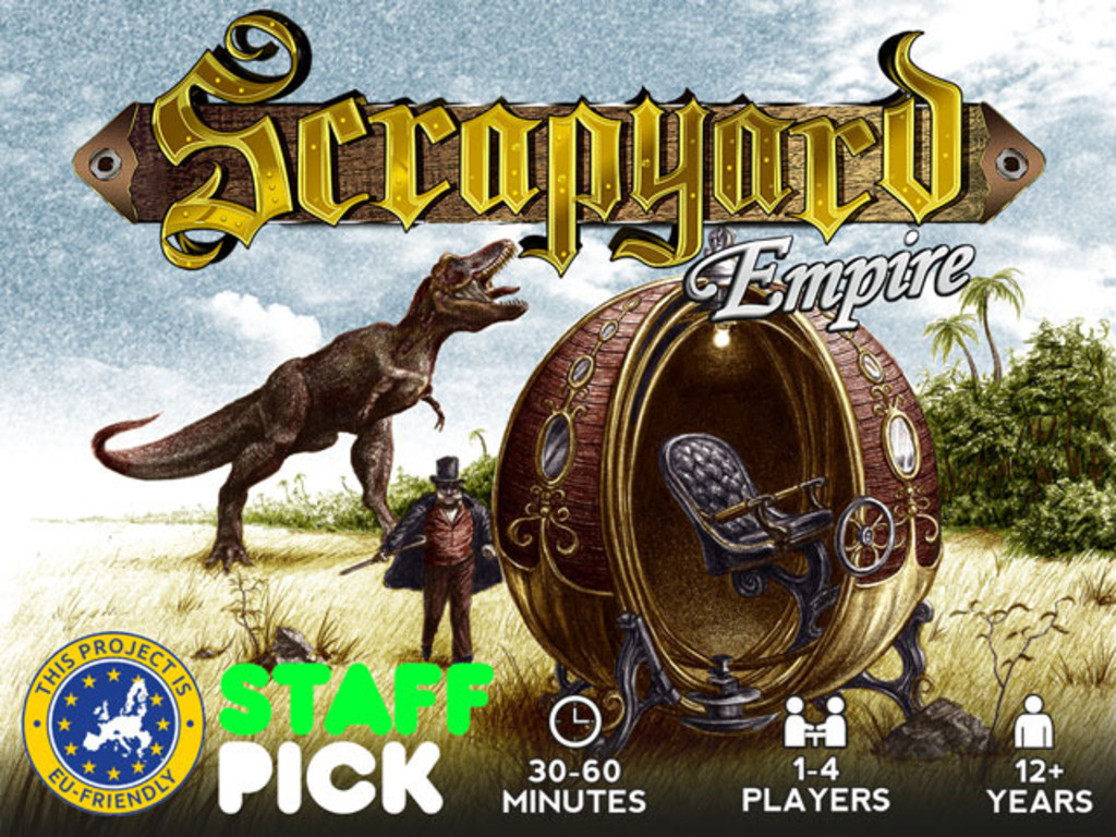 Scrapyard Empire: Strategic Card Game for One to Four People's video poster