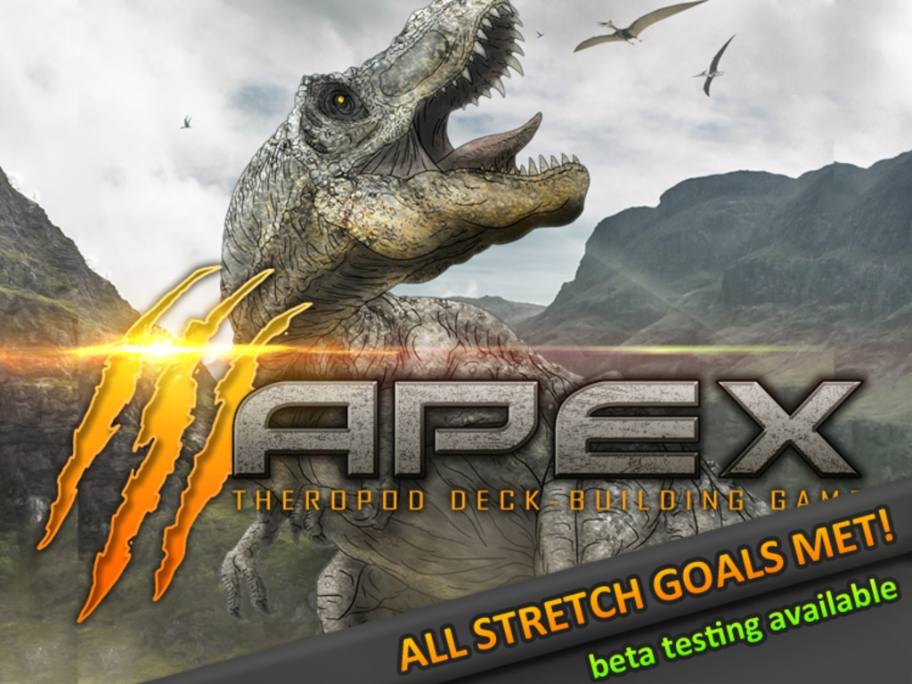 Apex Theropod Deck-Building Game's video poster