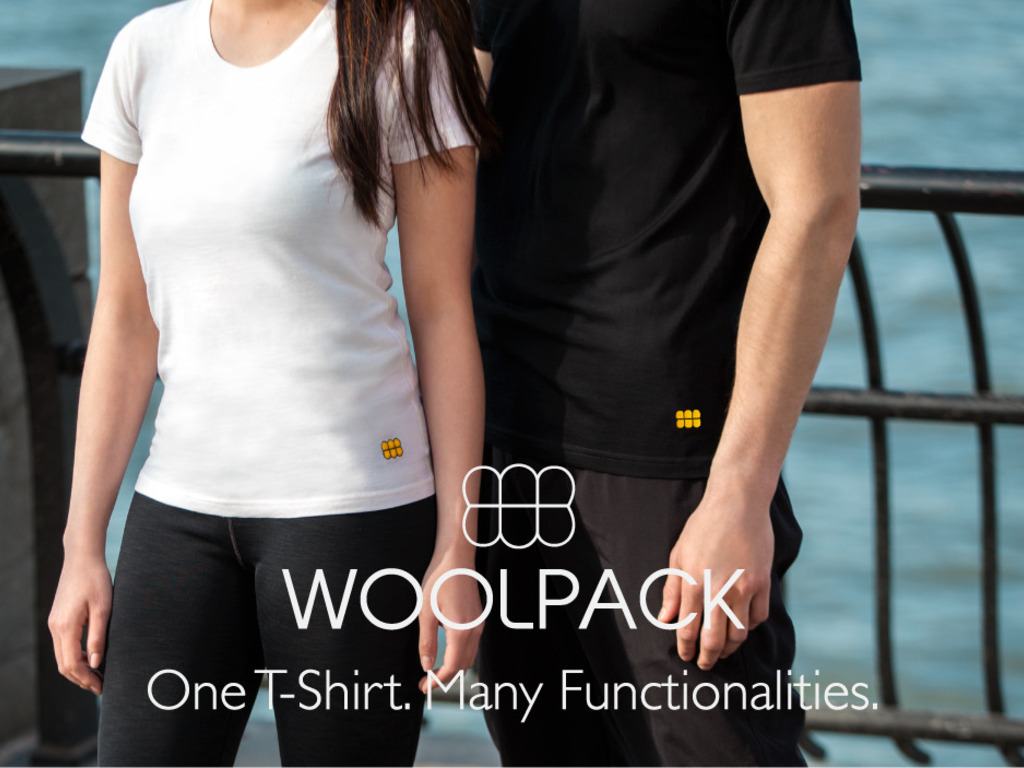 Woolpack: One T-Shirt. Many Functionalities.'s video poster