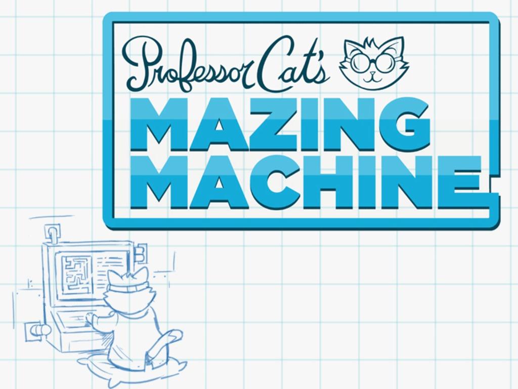 Prof. Cat's Mazing Machine's video poster