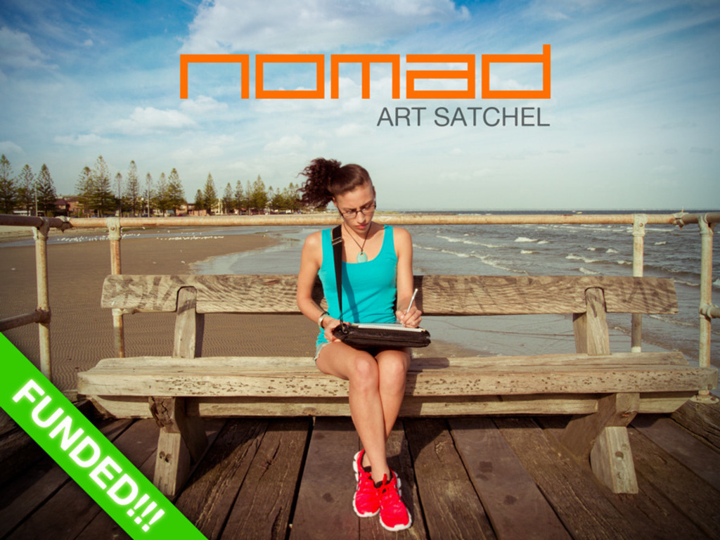 NOMAD Art Satchel: Create anywhere...Painlessly's video poster