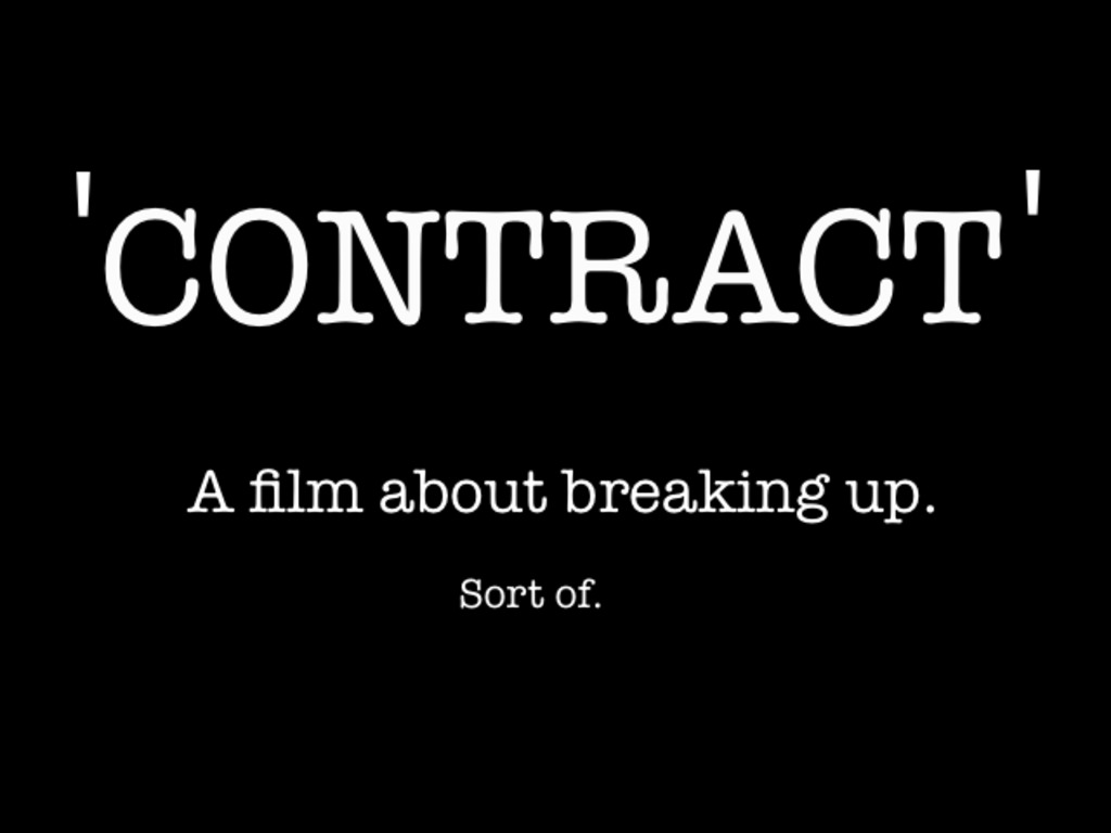 Contract: A Short Film's video poster