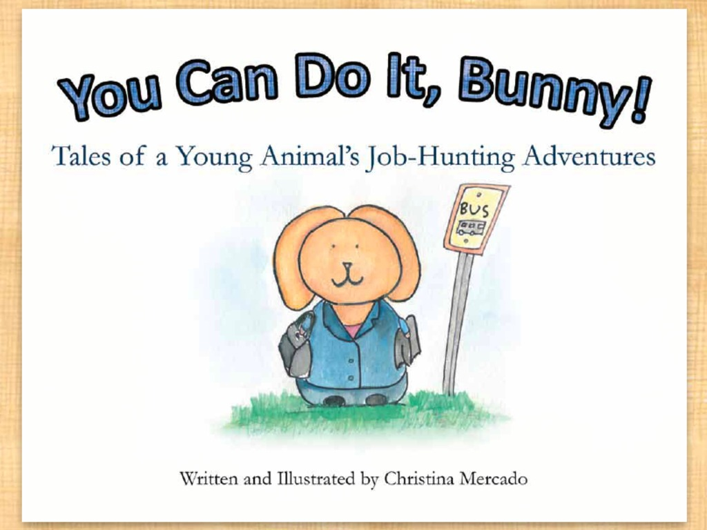 """You Can Do It, Bunny!"" - Go Bunny Books's video poster"