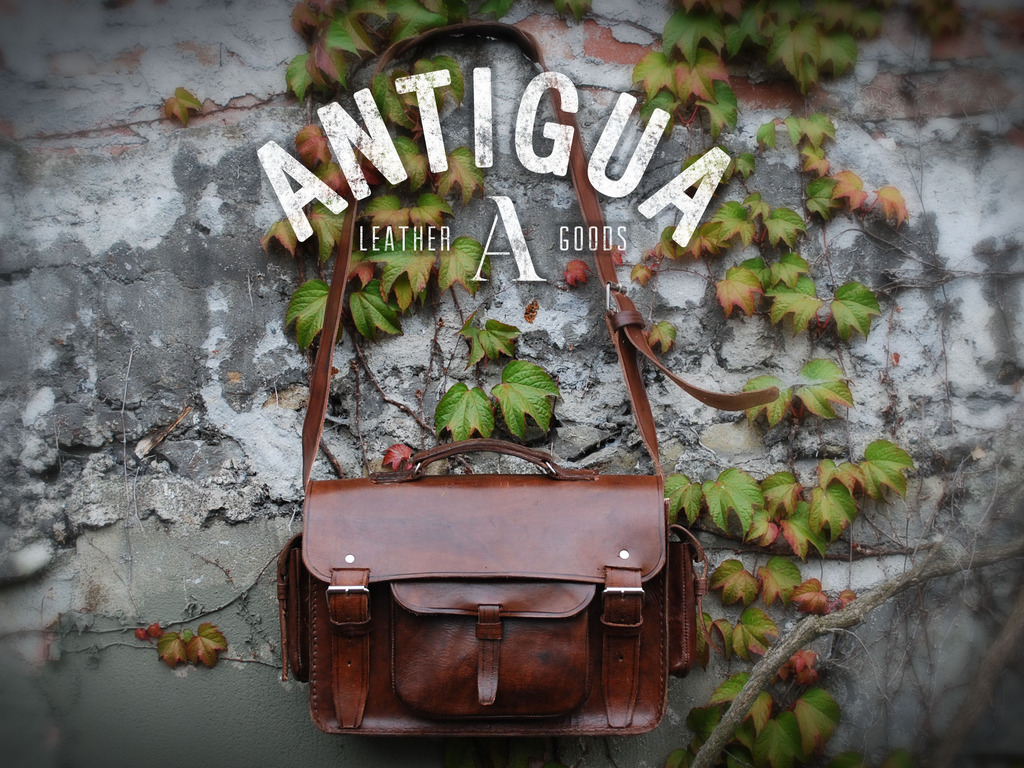 Antigua Leather™ Handmade Leather Cases for Tech Products's video poster