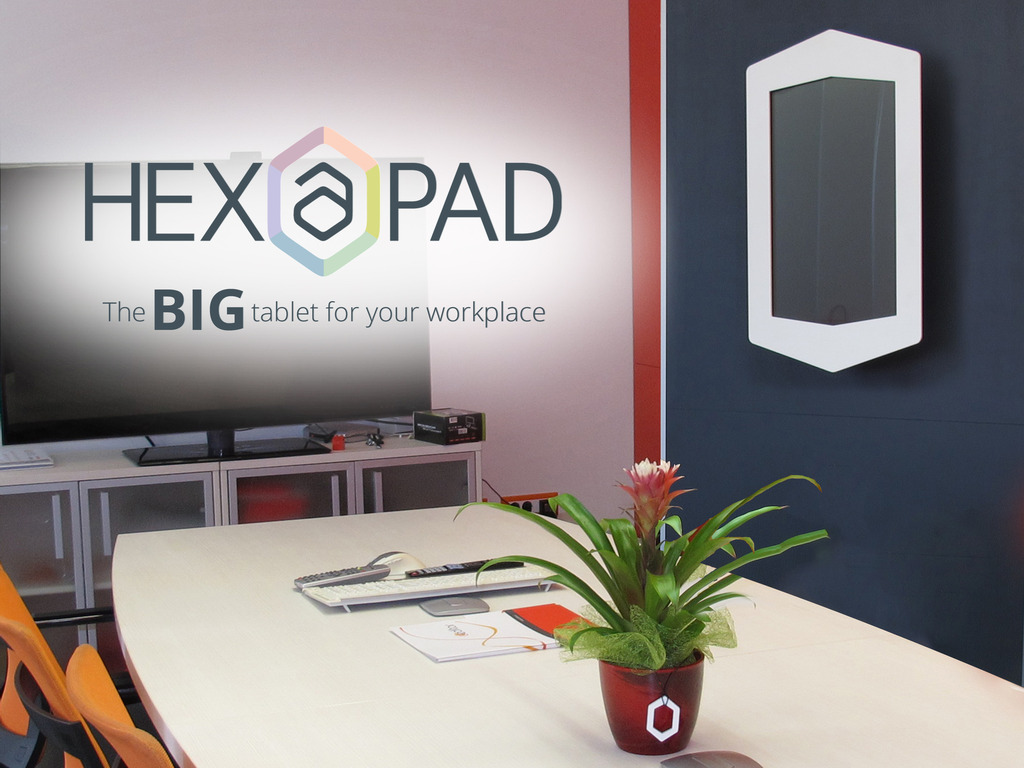 Hexapad - the affordable wall tablet for every business!'s video poster