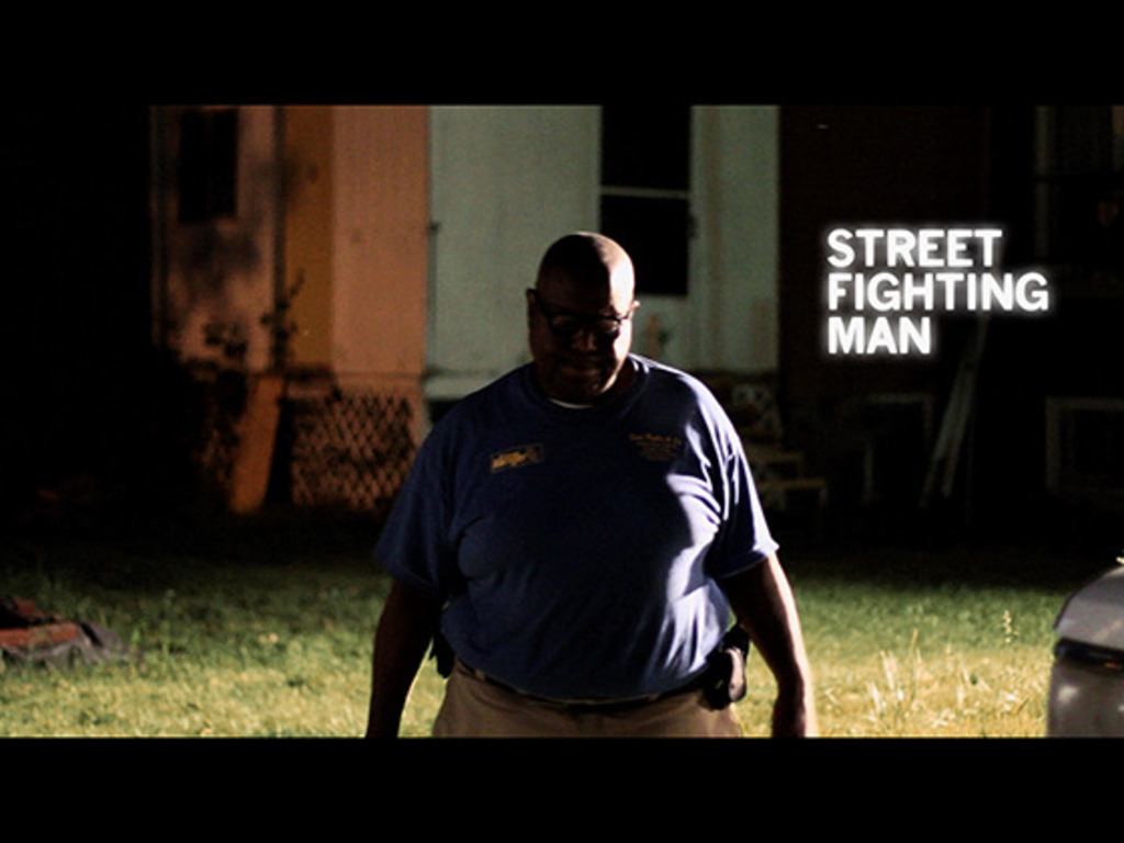 STREET FIGHTING MAN - a feature-length documentary's video poster