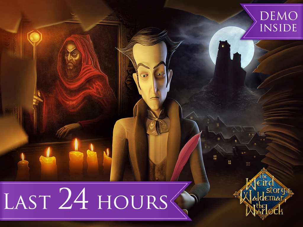 Waldemar the Warlock: A Horror Comedy adventure game's video poster