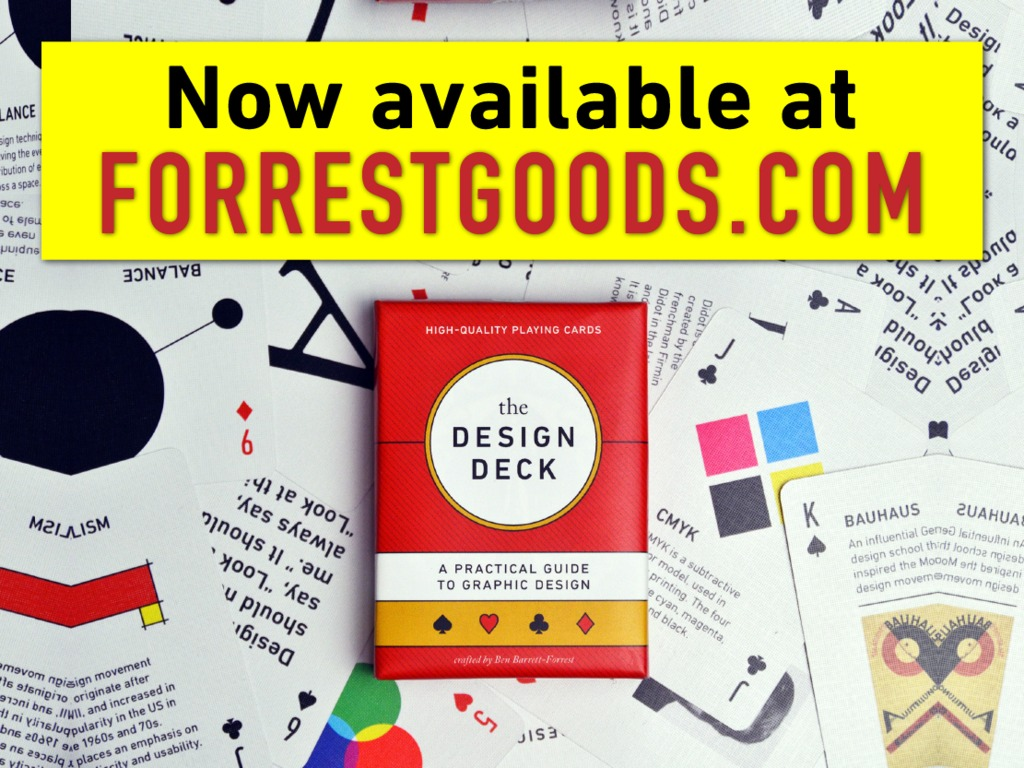 The Design Deck: a Playing-Card Guide to Graphic Design's video poster