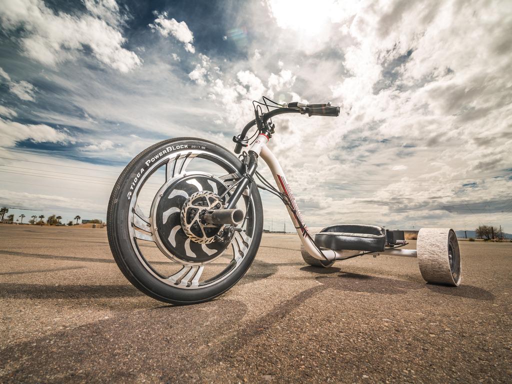 Verrado Electric Drift Trike by Local Motors's video poster