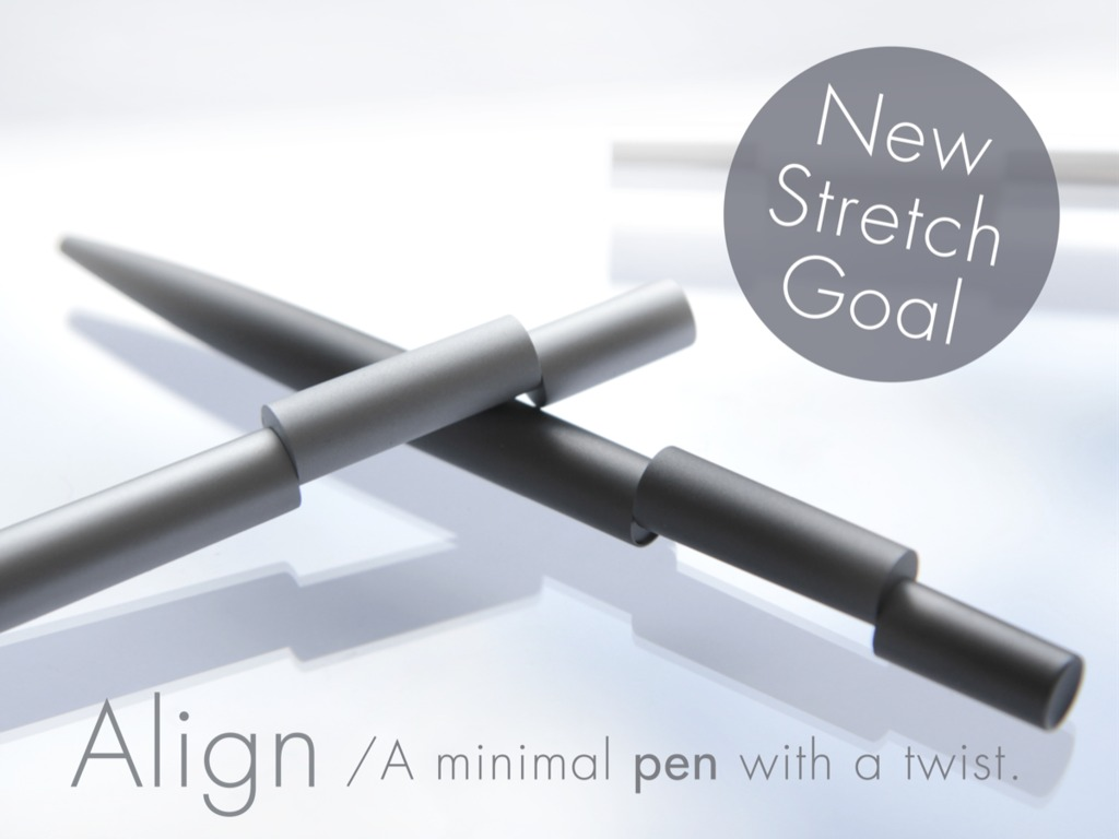 Align - A Minimal Pen with a Twist's video poster