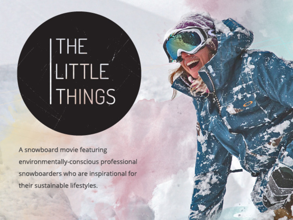 The Little Things Movie's video poster