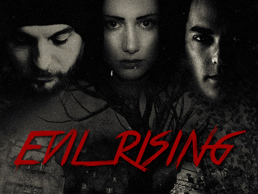 Evil Rising Horror Movie Project's video poster