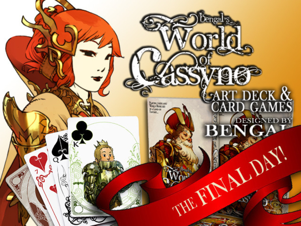 THE WORLD OF CASSYNO - Playing Cards by BENGAL's video poster
