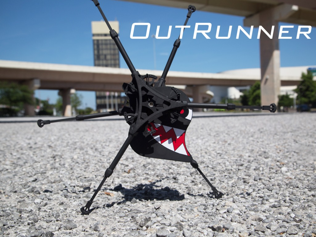 OutRunner: The World's First RC Running Robot's video poster