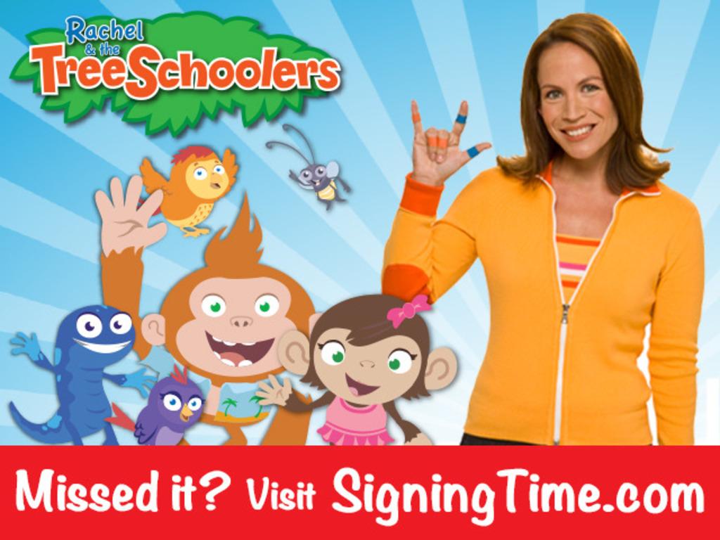 Rachel & the TreeSchoolers- Too Educational for TV?'s video poster