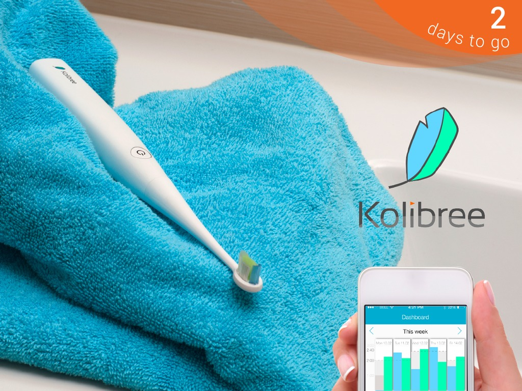 Kolibree: The World's First Connected Electric Toothbrush's video poster