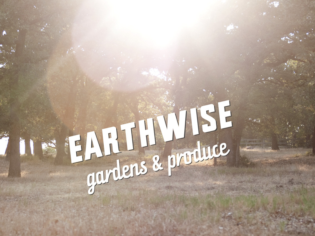 Earthwise: Dinner in the Garden's video poster