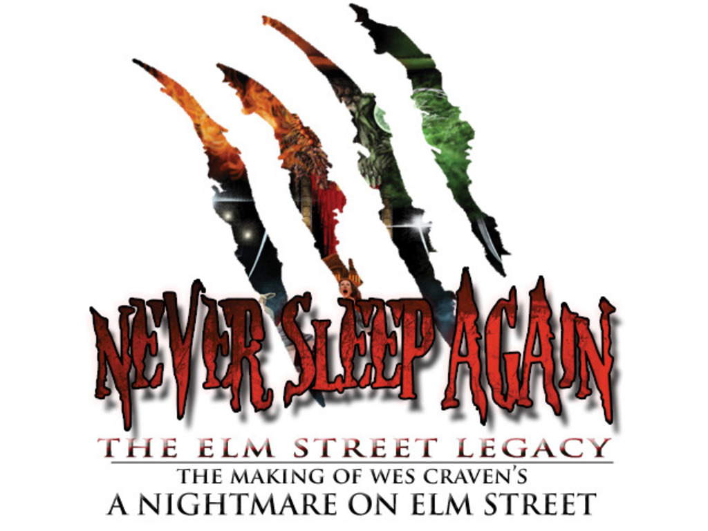 "Never Sleep Again: The Making of ""A Nightmare on Elm Street""'s video poster"