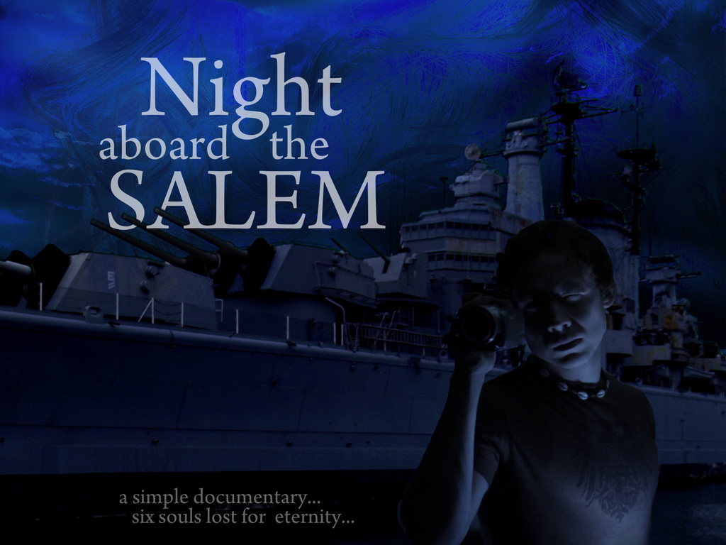 Night aboard the Salem: Horror: 6th Sense / Inception / Saw's video poster