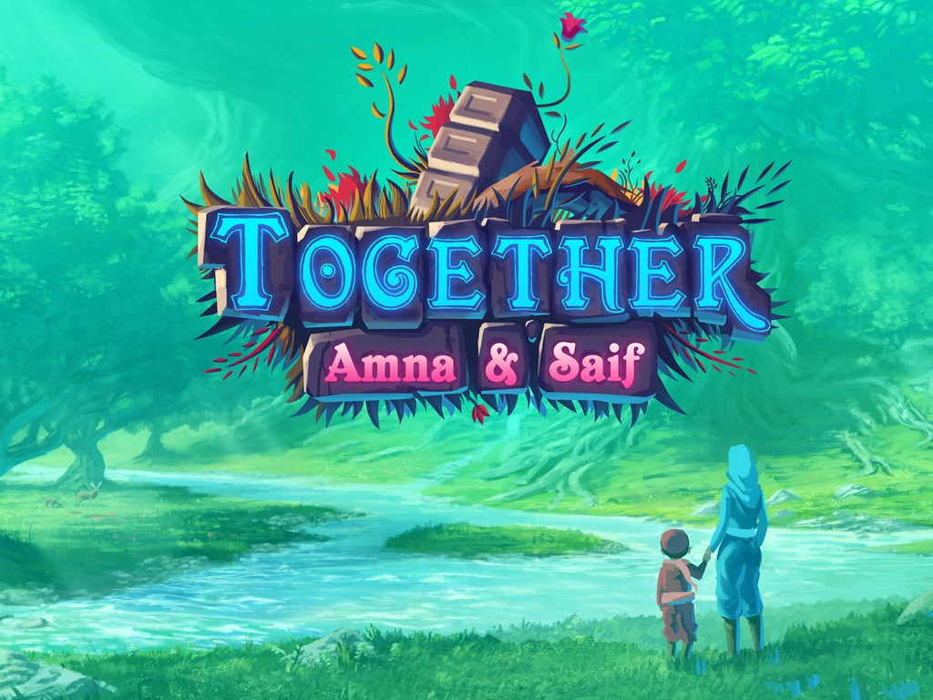 Together: Amna & Saif's video poster