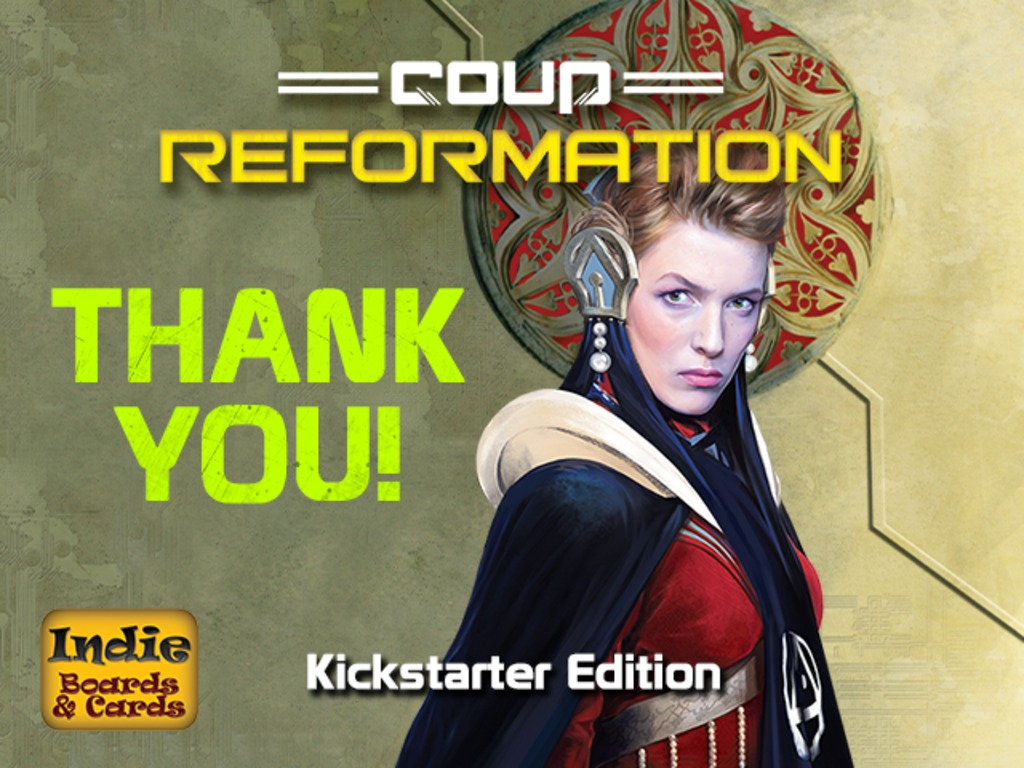 Coup Reformation - Kickstarter Edition's video poster