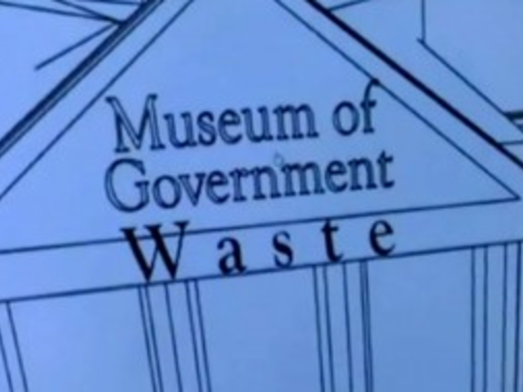 Museum of Government Waste (Canceled)'s video poster