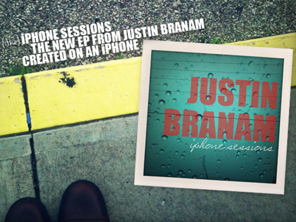 Justin Branam iPhone Sessions - Raising Money For A New Record's video poster