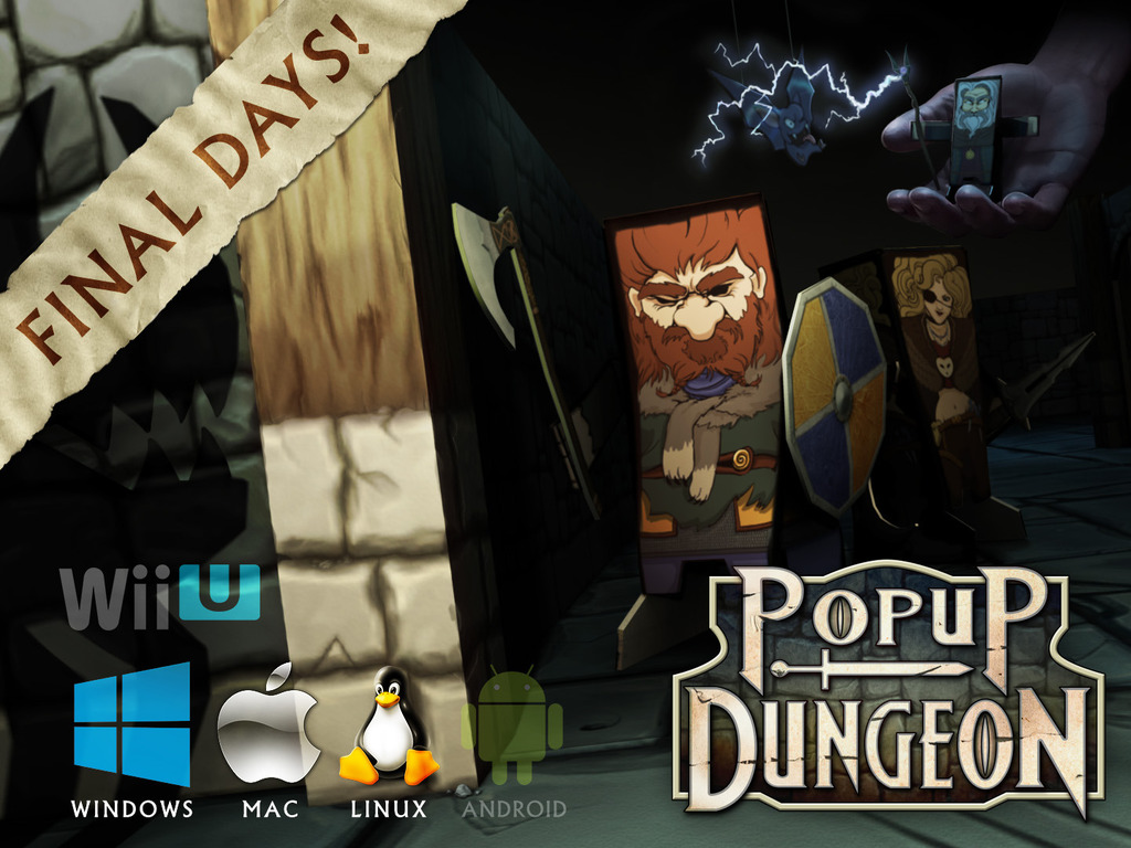 Popup Dungeon - A Tabletop Inspired Video Game's video poster