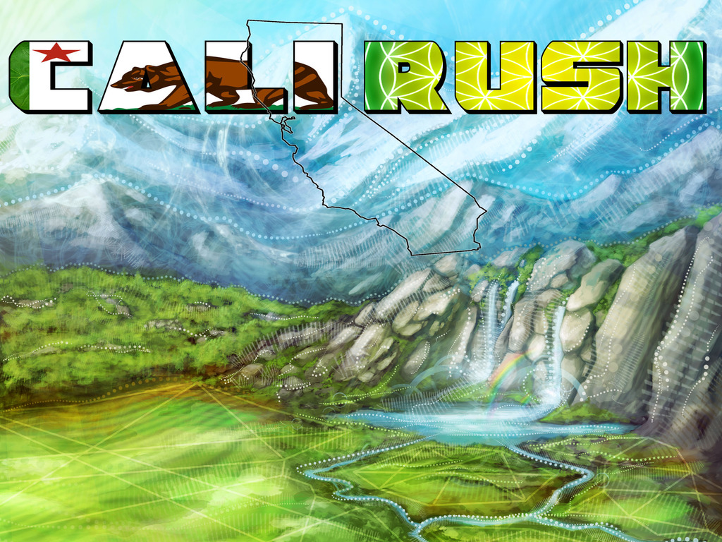 CALI RUSH Movie's video poster