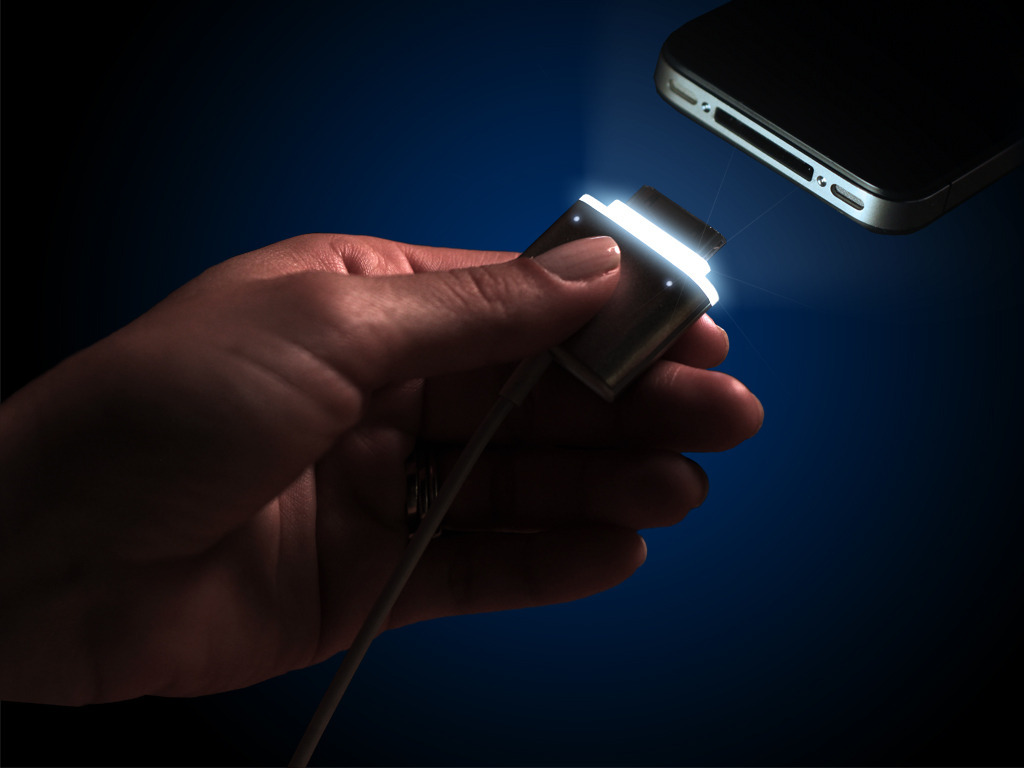 CordLite - illuminated Charger Cable for your iPhone's video poster