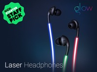 Glow: The First Smart Headphones with Laser Light