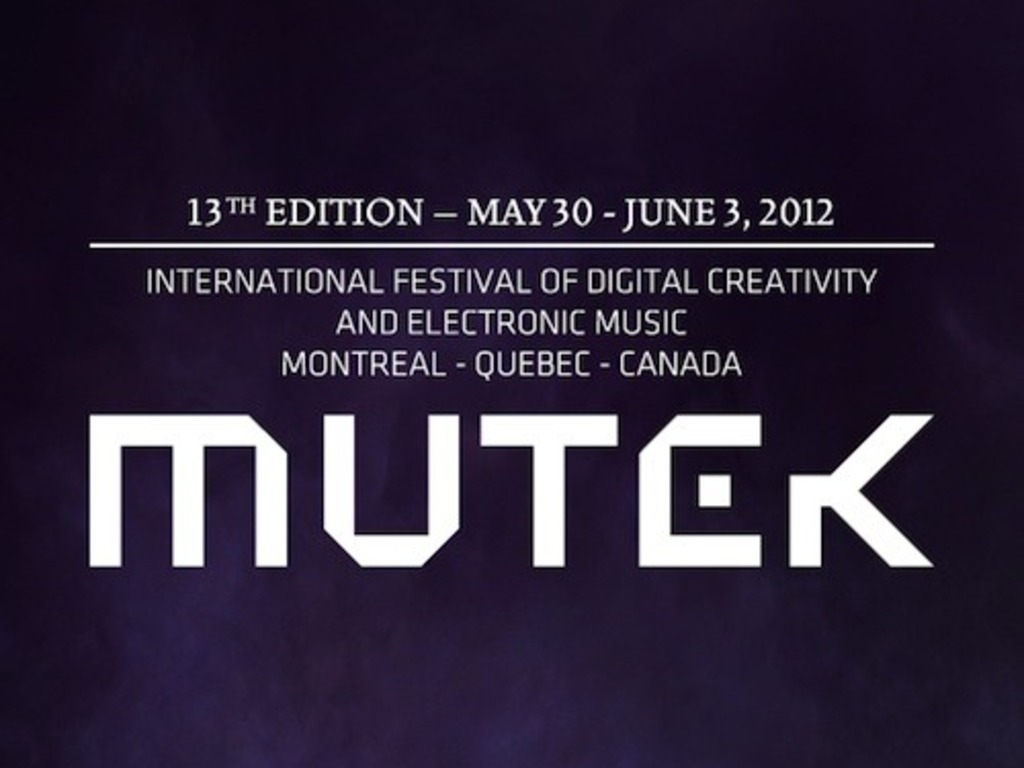 MUTEK 2012: the VIRTUAL FESTIVAL STUDIO project's video poster