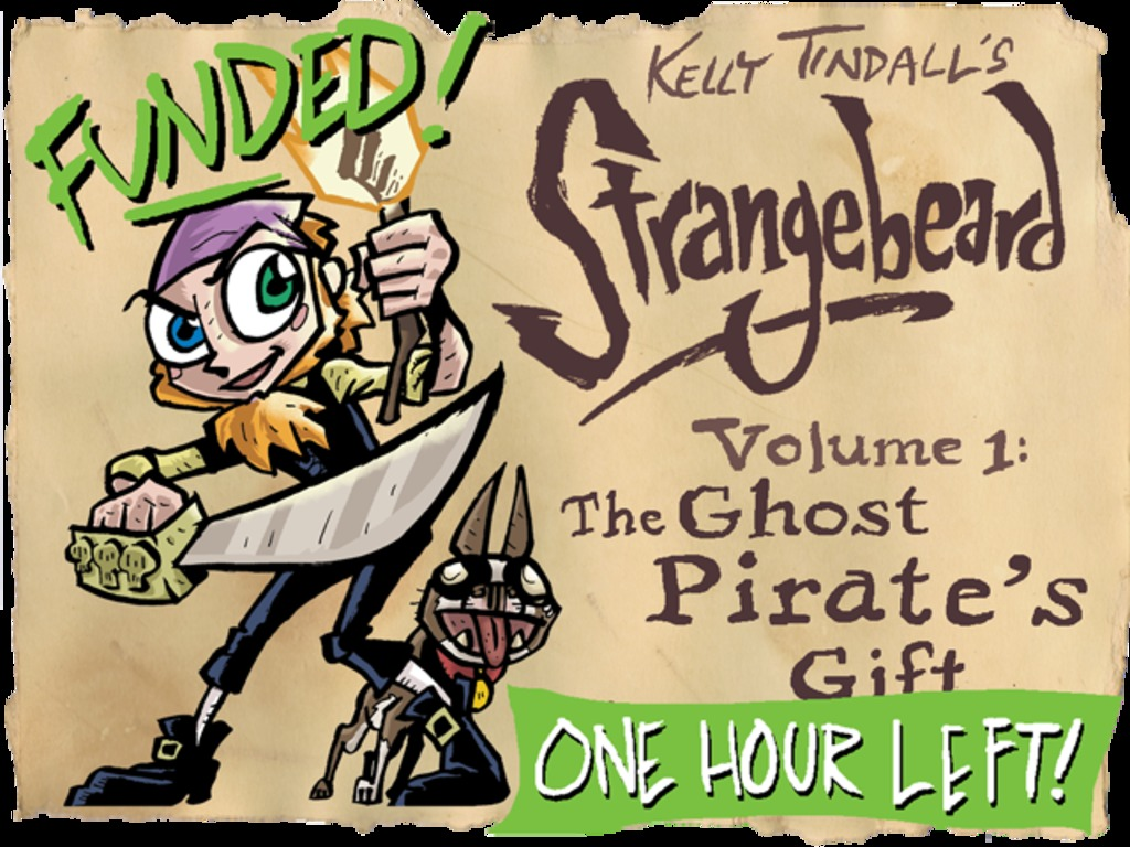 Strangebeard, Volume 1: The Ghost Pirate's Gift's video poster