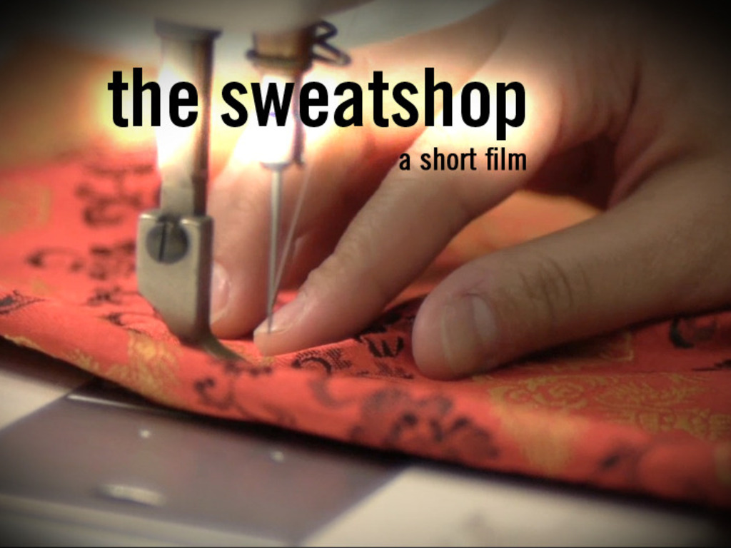 The Sweatshop's video poster